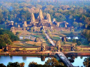 Angkor Wat in Cambodia tourism destinations